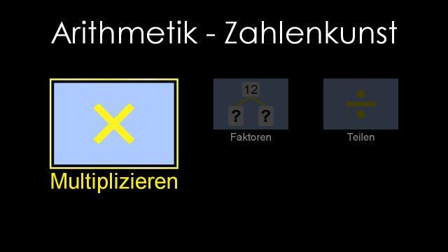 Bild: Arithmetik - Zahlenkunst