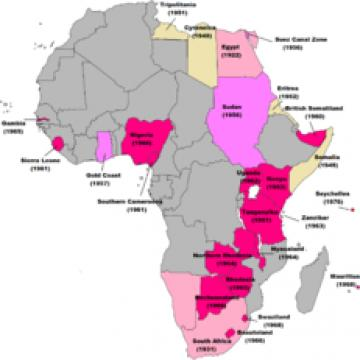 Bild: Britische Dekolonisation in Afrika