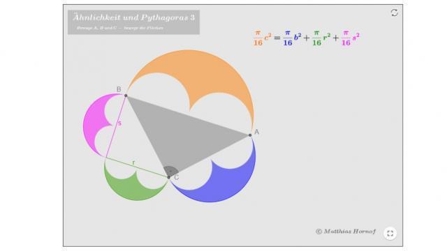 Bild: Ähnlichkeit und Pythagoras