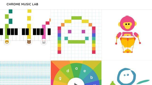 Bild: Chrome Music Lab